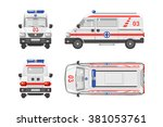 set stock vector illustration... | Shutterstock .eps vector #381053761