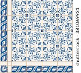 gorgeous   pattern from... | Shutterstock .eps vector #381069931