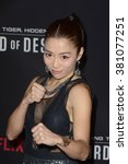 Small photo of LOS ANGELES - FEB 22: Juju Chan at the Crouching Tiger Hidden Dragon - Sword of Destiny Premiere at the AMC Universal Citywalk on February 22, 2016 in Universal City, CA