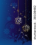 winter background and snowflakes   Shutterstock . vector #38108482