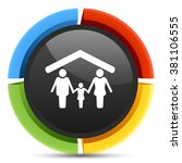 family icon | Shutterstock .eps vector #381106555