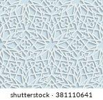 Seamless Arabic Pattern ...