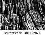 wood grain texture desktop... | Shutterstock . vector #381129871