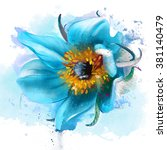 Beautiful Blue Flower Dream...