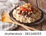 Arabic Cuisine  Kushari Of Ric...