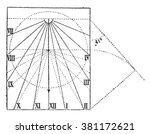 Vertical Sundial  Non Declinin...