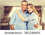 smiling. | Shutterstock . vector #381186691