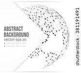 vector abstract... | Shutterstock .eps vector #381191491