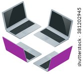computer   laptop  notebook ...   Shutterstock .eps vector #381202945