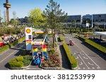 billund  denmark  april 27 ... | Shutterstock . vector #381253999
