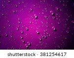 Many Of Raindrops Stuck On The...