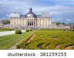 april  24  2015   chateau de... | Shutterstock . vector #381259255