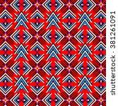 ethnic pattern   Shutterstock .eps vector #381261091