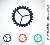 settings icon | Shutterstock .eps vector #381262435