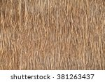 Texture Of Thatched From...