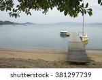 boats at the sea   Shutterstock . vector #381297739