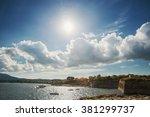 corfy island | Shutterstock . vector #381299737