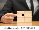 alternative risk concept.... | Shutterstock . vector #381308671