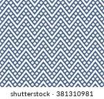 herringbone seamless pattern... | Shutterstock .eps vector #381310981