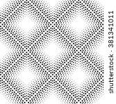 seamless pattern. monochrome.... | Shutterstock .eps vector #381341011