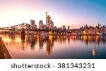 Frankfurt Am Main  Skyline ...