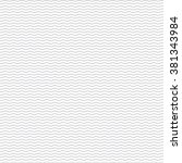 black seamless wavy line pattern | Shutterstock .eps vector #381343984