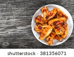 Tasty Grilled Chicken Wings On...