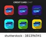 credit card chat ui set for...