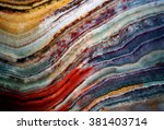 texture of gem stone onyx ... | Shutterstock . vector #381403714