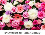 Stock photo bunch of flowers 381425839