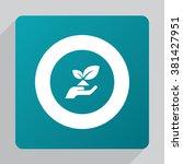 vector eco friendly icon | Shutterstock .eps vector #381427951