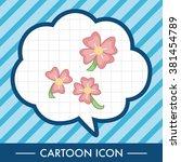 flower theme elements vector eps