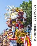 barranquilla   colombia   feb... | Shutterstock . vector #381497701