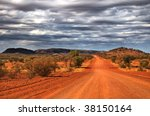 Outback Scenery In The Red...