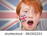 Redhead Fan Boy With British...