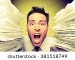 emotional stress. | Shutterstock . vector #381518749
