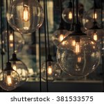 hanging decorative | Shutterstock . vector #381533575