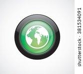 earth icon. earth icon vector....
