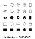 different style trendy... | Shutterstock .eps vector #381545881