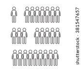 man icon illustration design | Shutterstock .eps vector #381547657