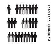 man icon illustration design | Shutterstock .eps vector #381547681
