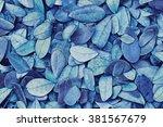 Blue Leaf Pattern    Blue Leaf...