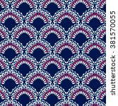 ethnic pattern | Shutterstock .eps vector #381570055