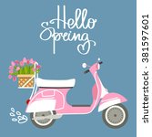 vector illustration with... | Shutterstock .eps vector #381597601
