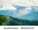 natural tropical forest in... | Shutterstock . vector #381605125