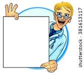 vector illustration of a... | Shutterstock .eps vector #381613117