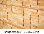 lumber industrial wood texture... | Shutterstock . vector #381623245
