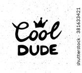conceptual handwritten phrase... | Shutterstock . vector #381633421