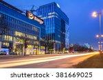 gdansk  poland   february 23 ... | Shutterstock . vector #381669025