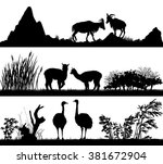 vector set of illustration with ...   Shutterstock .eps vector #381672904